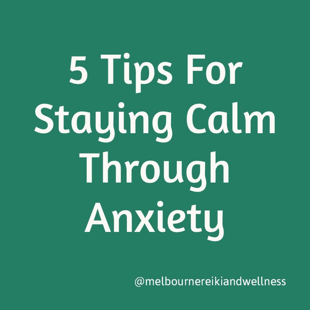 5 tips to beat anxiety